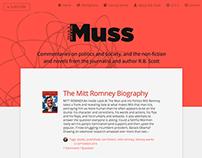 The Muss Blog & Website