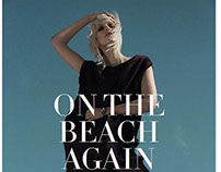 On The Beach Again - Factice Magazine