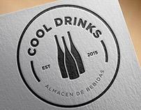 BRANDING . COOL DRINKS - almacén de bebidas -