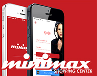 Minimax Shopping center App concept