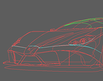 Car design for an art/design course assignment