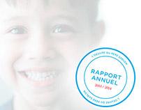 L'Oeuvre du Père Sablon // Rapport annuel 2013/2014