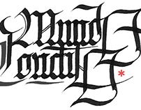 Black letters - Latin