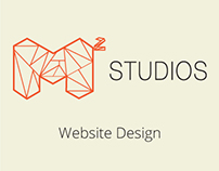 M² Studios Website Design