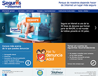 Sitio web - Seguros en internet