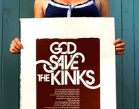 God Save the Kinks Screenprint (SOLD OUT)