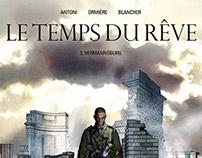 """""""Le temps du rêve"""" T3, éditions Delcourt"""