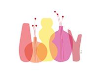 Vase illustration