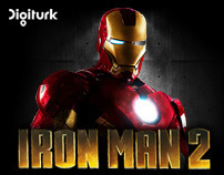 "Digiturk ""Ironman"" Takeover Richmedia Banner"