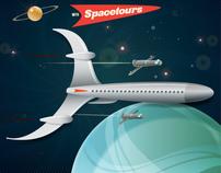 Dan Dare – Sci-fi Travel Poster