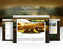 Agritec FM - agriculure website