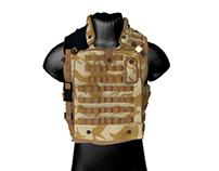 Osprey MK3 body armor 3d model