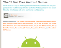 15 Best Free Android Games