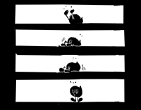 Super Lazy comic  – born