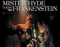 """Mister Hyde contre Frankenstein"" T2, éditions Soleil"
