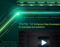 """Futuristic Website Design For """"Revnet"""""""