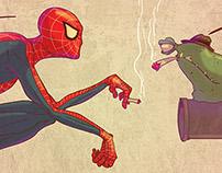Ga3da avec spider man