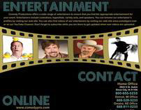 Comedy Productions | Direct Mail Marketing
