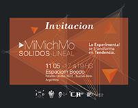 MiMichMo /// Solidos-Lineal - Espaciom Boedo, Argentina