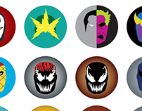 Comic Masks - Series 2