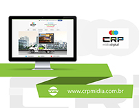 Web Design | Website empresa CRP Mídia Digital