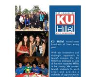 KU Hillel Student Outreach Handouts