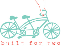 """Built for Two"" logo"