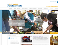 St. David's Foundation Website ReDesign