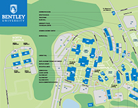 Bentley University Map Bentley University, Campus Map on Behance