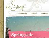 ecShop - template design