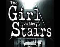 BOOK COVER DESIGN: The Girl on the Stairs