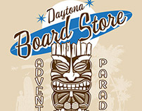 Daytona Board Store Old School Tiki Design
