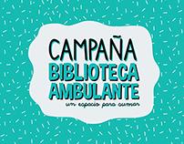 Campaña Biblioteca Ambulante - Htal. de niños