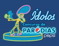 Pepsi  - Concurso de Paródias Ídolos Brasil