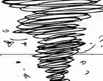 Tornado super-heroine (WIP)