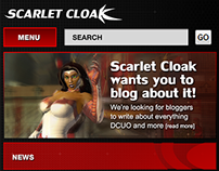Scarlet Cloak Wordpress Template