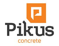 Pikus Concrete Logo Redesign