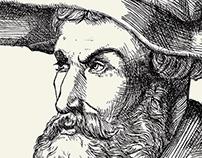 Albrecht Durer etching replica