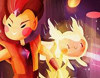 Flame prince
