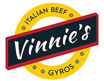 Vinnie's window vinyl