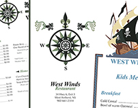 West Winds Menu