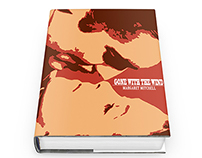 "GRAPHIC DESIGN_""Gone with the Wind"" Book Cover"