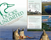 Ducks Unlimited Annual Report InDesign Project