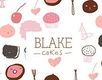 Blake Cakes Logo!