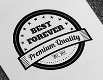 10 Premium Retro Badges and Labels