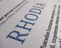 Rhodia Serif