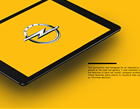 Opel | Interactive Touch Screen Application