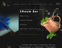 2 Raum Bar - Restaurant / Concept Store Website Design