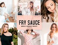 Free Fry Sauce Mobile & Desktop Lightroom Presets