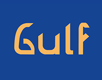 Gulf-a typeface